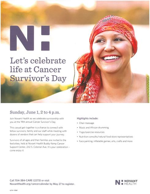 Let's Celebrate Our Survivorship!